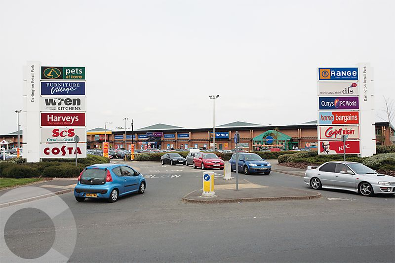 Lasalle Investment Management Darlington Retail Park Darlington